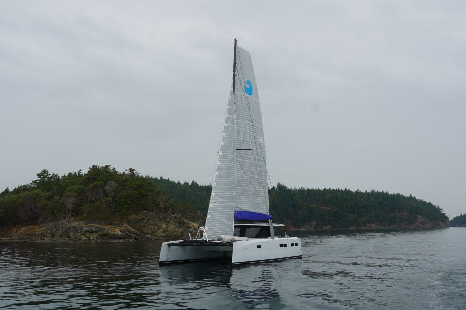 All electric cat open waters yachts